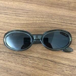 Gucci Vintage Early '00s Green Sunglasses